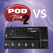POD HD vs POD FARM ダイナミクス比較